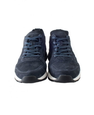 Crime London - Sneakers uomo in camoscio - Art. 11522
