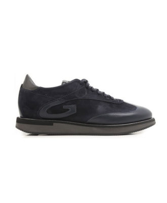 Alberto Guardiani - Sneakers uomo in pelle e camoscio - Art. 73413E