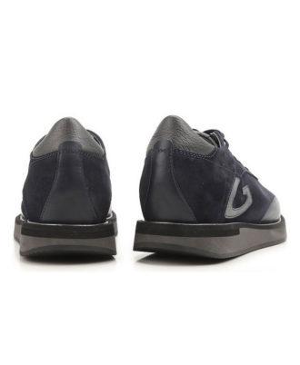 Alberto Guardiani - Sneakers uomo in pelle e camoscio - Art. 73413E