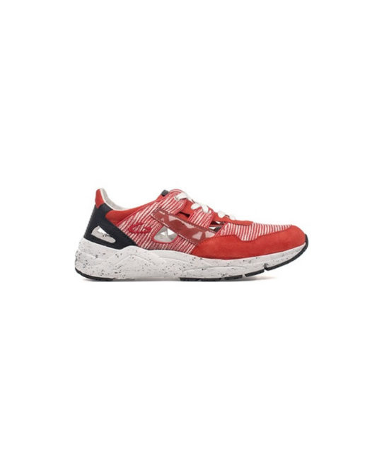 Alberto Guardiani - Sneakers uomo in camoscio e tessuto - Art. SU72453G-36