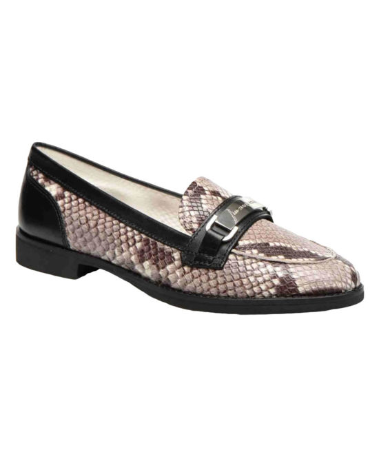 Michael Kors - Mocassino donna in pelle stampata - Art. ANSLEY