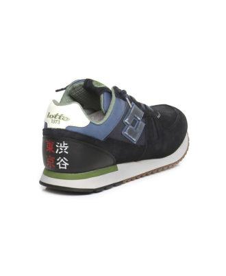 Lotto Leggenda - Sneakers uomo in camoscio e tessuto - Art. T0841