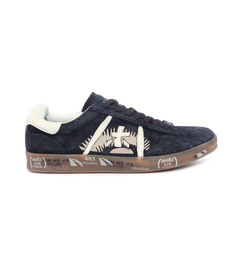 lowest price 020e7 5829e Premiata - Sneakers uomo - Art. Andy 3320 Blu