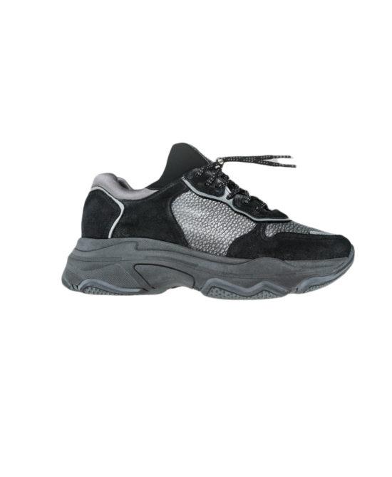 Bronx - Sneakers donna - Art. 66167 Metal black