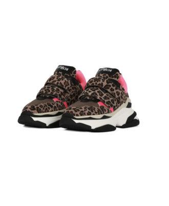 Elena Iachi - Sneakers donna - Art. Touch Feel Leopard
