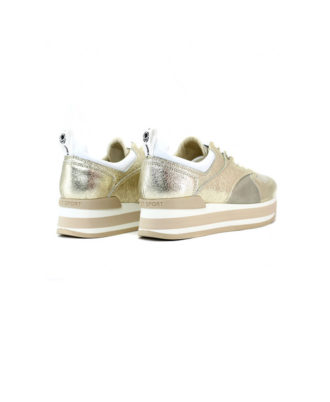 Janet Sport - Sneakers donna - Art. 43700 Platino