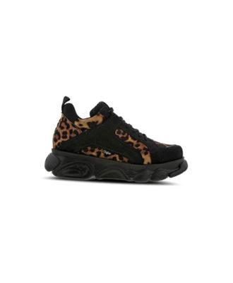 Buffalo - Sneakers donna - Art. Corin Leopard/Black
