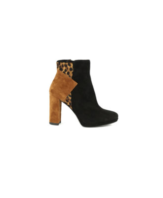 Steve Madden - Stivaletto donna in pelle  - Art. Missie Black