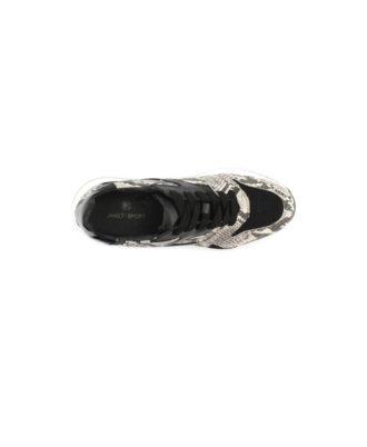 Janet Sport - Sneakers donna - Art. 44725 Nero-Roccia