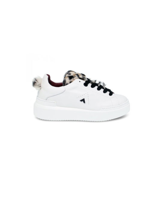 Ed Parrish - Sneakers donna - Art. MA53 Bianco