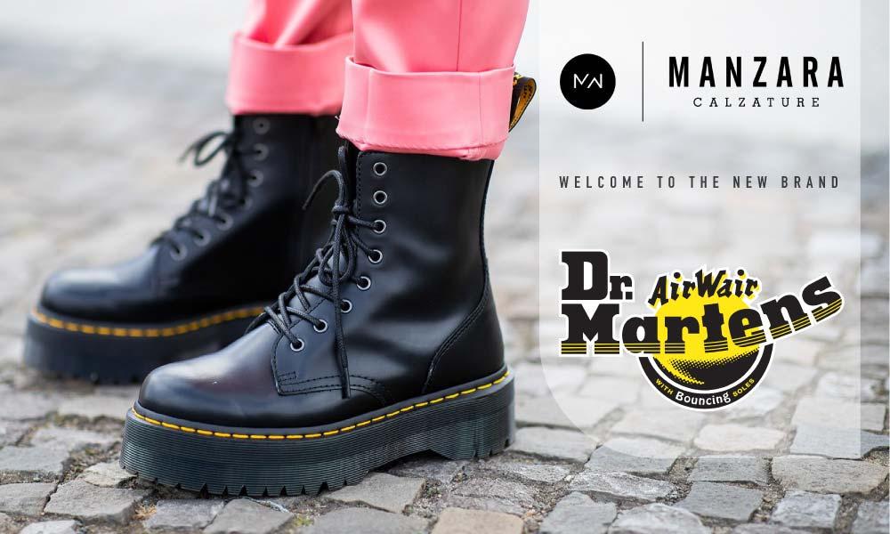Nuovo brand: Dr Martens
