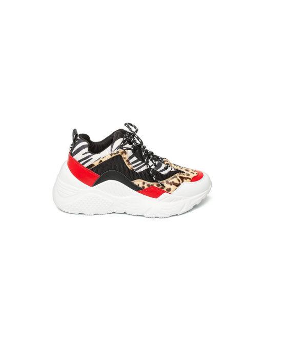 Steve Madden - Sneakers donna - Art. Antonia Multi Red