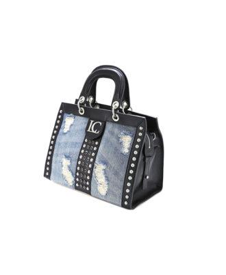 La Carrie Bag – Borsa donna – Art. 101P-GA-110 Black/jeans