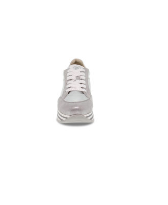 Janet Sport - Sneakers donna - Art. 45781 Argento