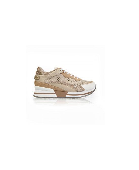 Apepazza - Sneakers donna - Art. Rhea Beige