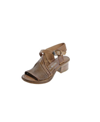 AS98 - Sandali donna in pelle - Art. 690022 Tiger/Natural