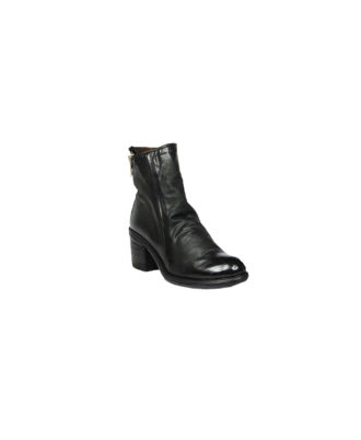 AS98 - Stivaletti donna in pelle - Art. A24208 Nero