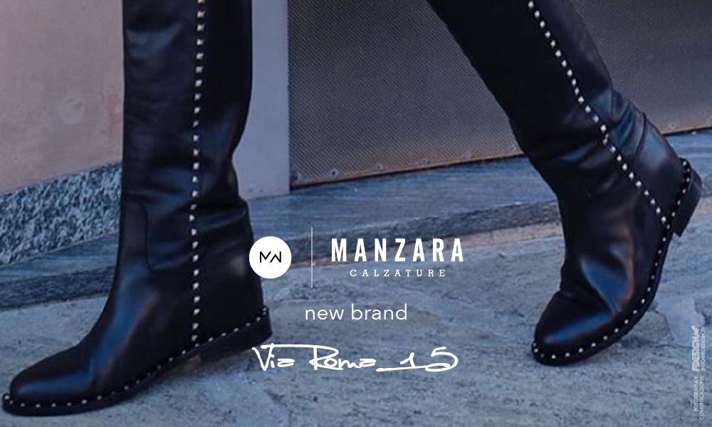 Nuovo brand: Via Roma 15