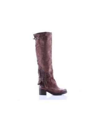 AS98 - Stivali donna in pelle - Art. 261360 Marrone