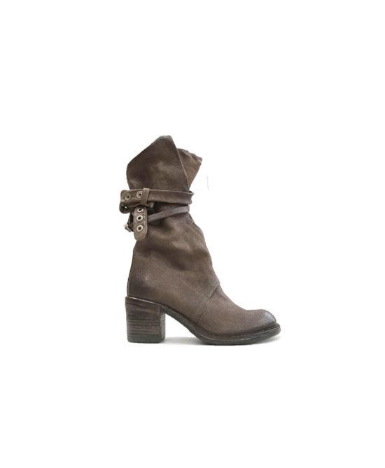 AS98 - Stivali donna in pelle - Art. A24306 Marrone