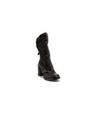 AS98 - Stivali donna in pelle - Art. A21202 Nero