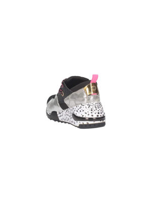 Steve Madden - Sneakers donna - Art. Cliff Black/silver