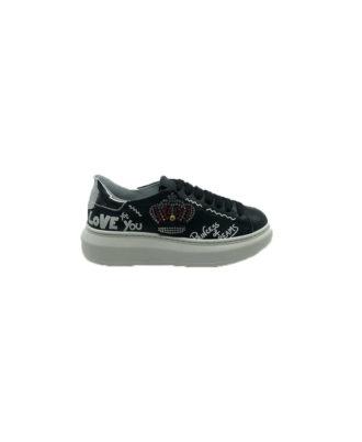 Gio+ - Sneakers donna - Art. G3010XD Nero
