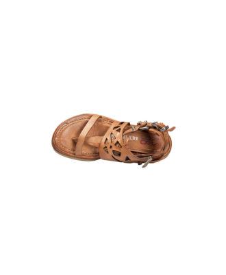 AS98 - Sandali donna in pelle - Art. 699038 Calvados